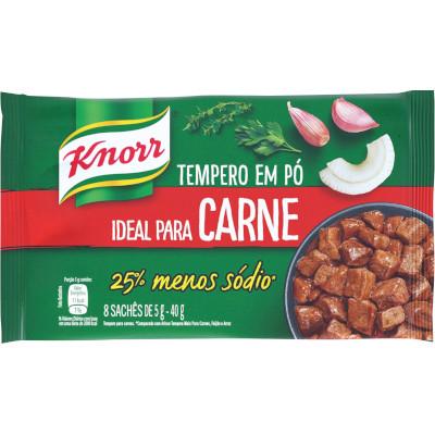 Tempero para carnes 40g Knorr caixa UN