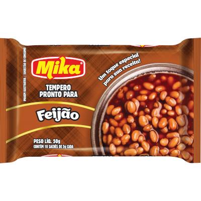Tempero para Feijão 50g Mika pacote PCT