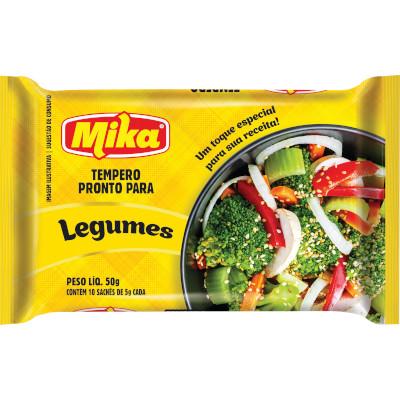 Tempero para Legumes 50g Mika pacote PCT