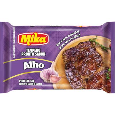 Tempero Toque de Alho 50g Mika pacote PCT