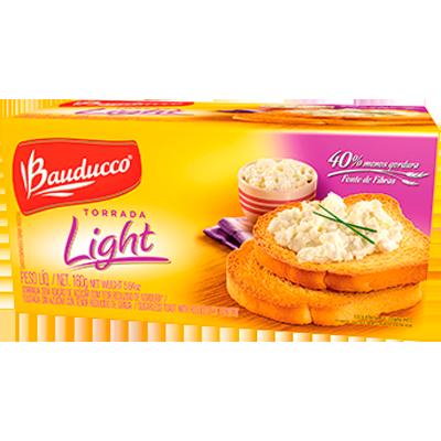 Torrada light 160g Bauducco pacote UN
