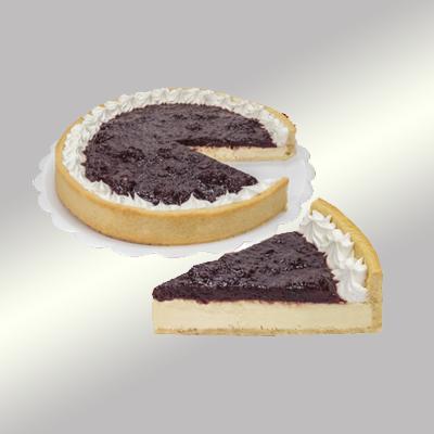 Torta cheesescake congelado 14 fatias 1,4kg Empório das tortas  UN