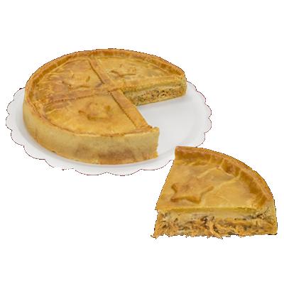 Torta de frango com catupiry 6 fatias 500g Empório das tortas  UN