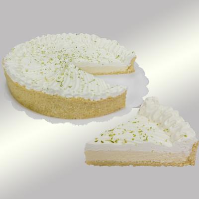 Torta de limão 14 fatias 1,5kg Empório das tortas  UN
