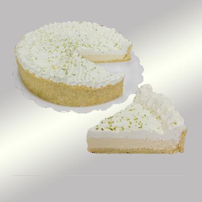 Torta de limão 6 fatias 500g Empório das tortas  UN