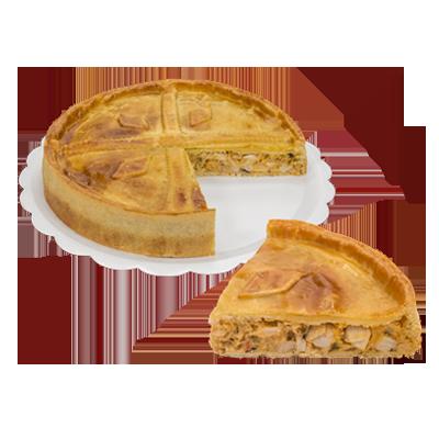 Torta de palmito 6 fatias 500g Empório das tortas  UN