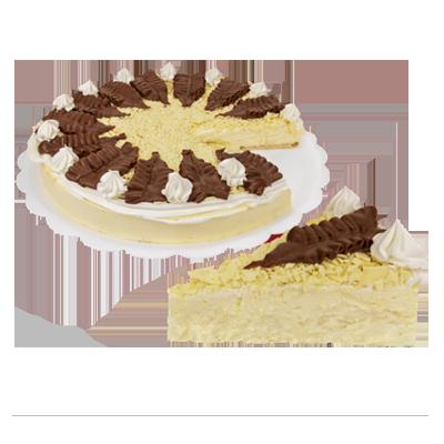Torta mont blanc 14 fatias 1,5kg Empório das tortas  UN