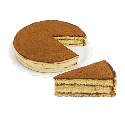 Torta tiramissu 14 fatias 1,5kg Empório das tortas  UN