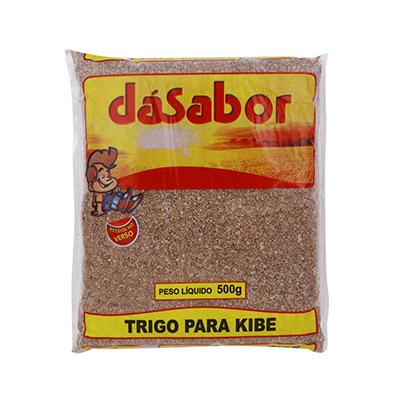 Trigo para kibe  500g DáSabor pacote PCT