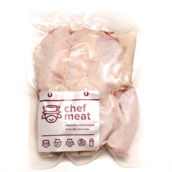 Tulipa de Frango Resfriado 1Kg Chef Meat pacote PCT