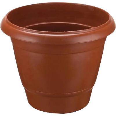 Vaso Redondo 21,5L Cerâmica unidade Plasnew  UN