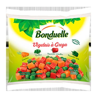 Vegetais a Grega congelado 300g Bonduelle pacote UN