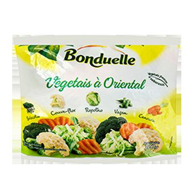 Vegetais a Oriental congelado 300g Bonduelle pacote UN