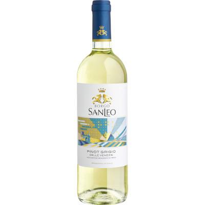 Vinho branco Italiano Pinot Grigio 750ml SanLeo garrafa UN