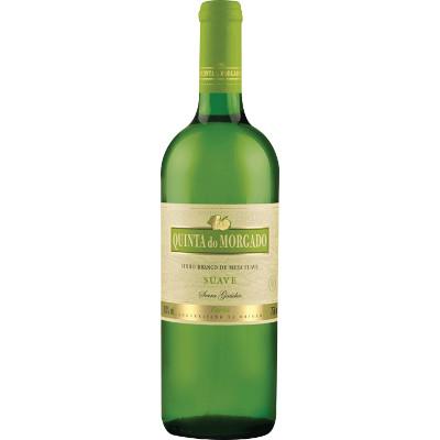 Vinho Branco Nacional Suave 750ml Quinta do Morgado garrafa UN