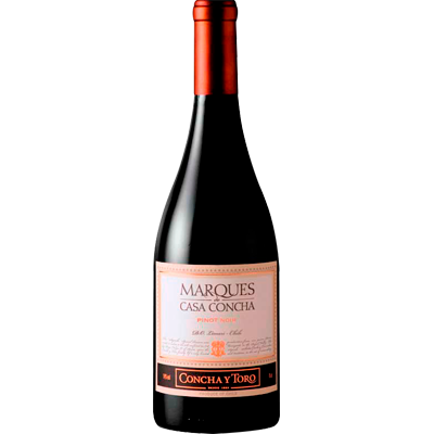 Vinho Rosé Chileno Pinot Noir 750ml Marques de Casa Concha garrafa UN