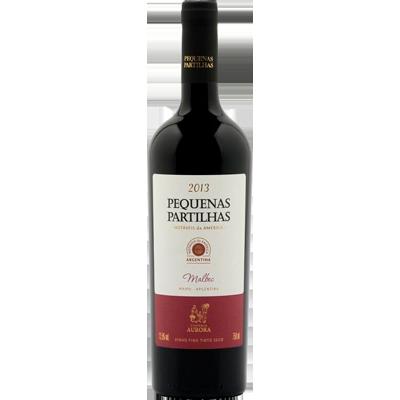 Vinho tinto Argentino Malbec 750ml Aurora Pequenas Partilhas garrafa UN