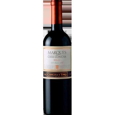 Vinho tinto Chileno Merlot 750ml Marques de Casa Concha garrafa UN