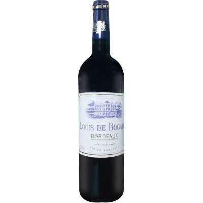 Vinho tinto Francês Bordeaux 750ml Louis de Bogard garrafa UN