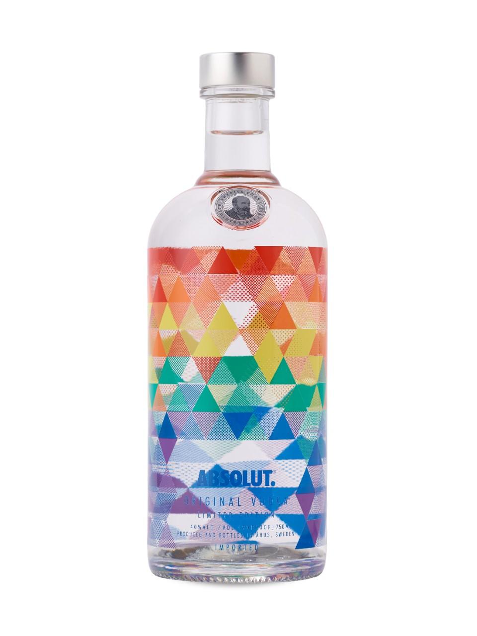 Vodka Andy Limited Edition 1Litro Absolut garrafa UN
