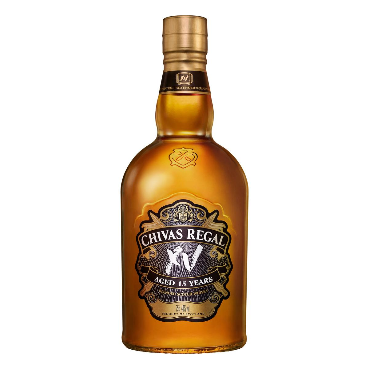 Whisky Escocês Regal 15 Anos 750ml Chivas Brothers Ltd garrafa UN